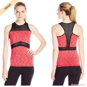 [MINKPINK Move] Work It Fitted Racerback Tank Top